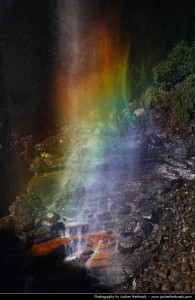 Regenboog in de Blue mountains