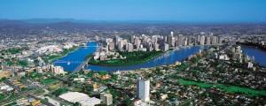 Uitzicht over Brisbane