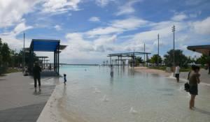 De lagoon in Cairns