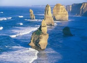 Great Ocean route vanuit melbourne te bereiken