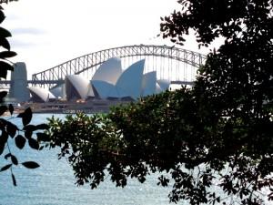 De Harbour Bridge in Sydney
